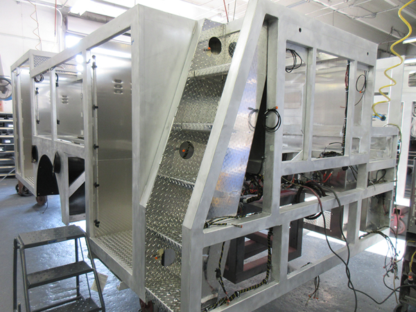 E-ONE fire truck being built for the Leyden Township FPD so 142568