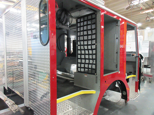 E-ONE fire truck being built so 142568