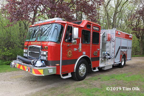Woodstock Fire Rescue District Engine 42