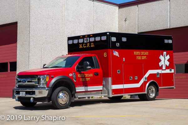 North Chicago FD Ambulance 6