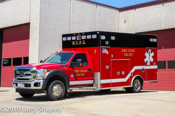 North Chicago FD Ambulance 7