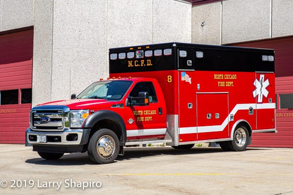 North Chicago FD Ambulance 8