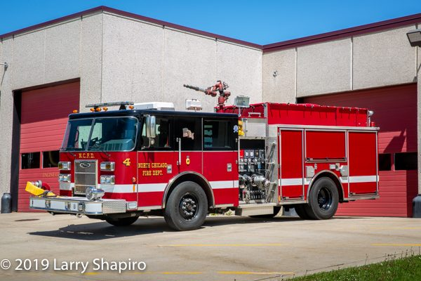 2011 Pierce Saber pumper