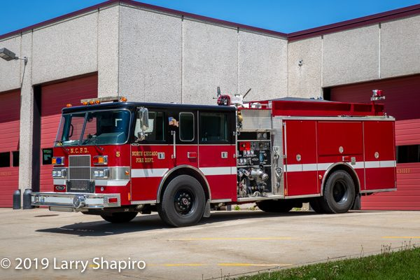 2001 Pierce Saber pumper