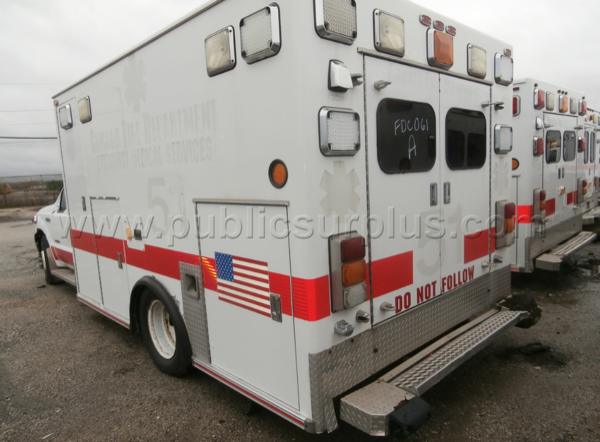 Former Chicago FD Ambulance #51 for sale by auction