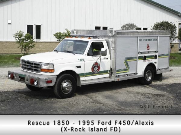 Fox River & Countryside FPD Squad 1850