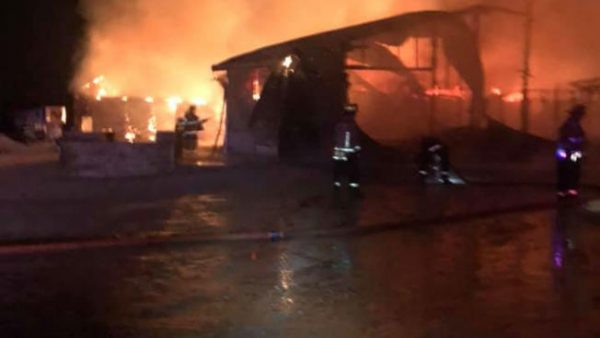 Horse barn destroyed by fire killing 15 horses near Monee, IL 4/30/19