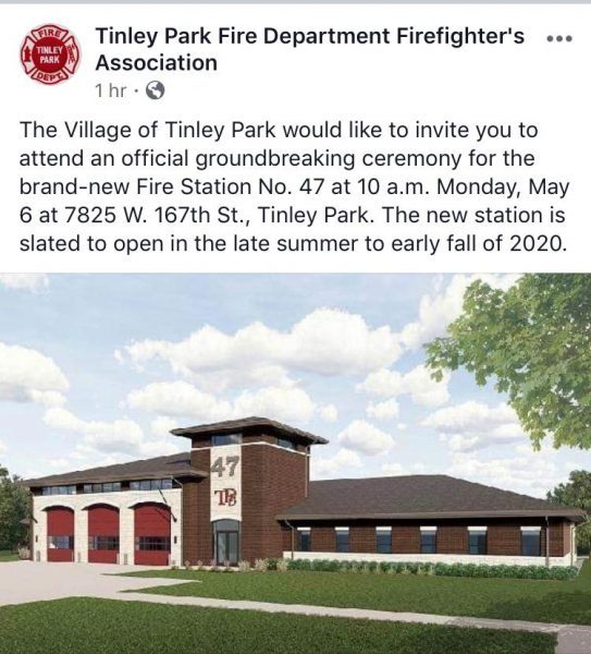 New fire station for the Tinley park FD