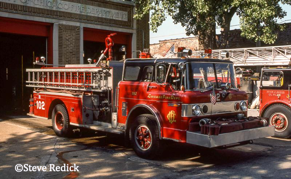 Ford C - Pierce fire engine