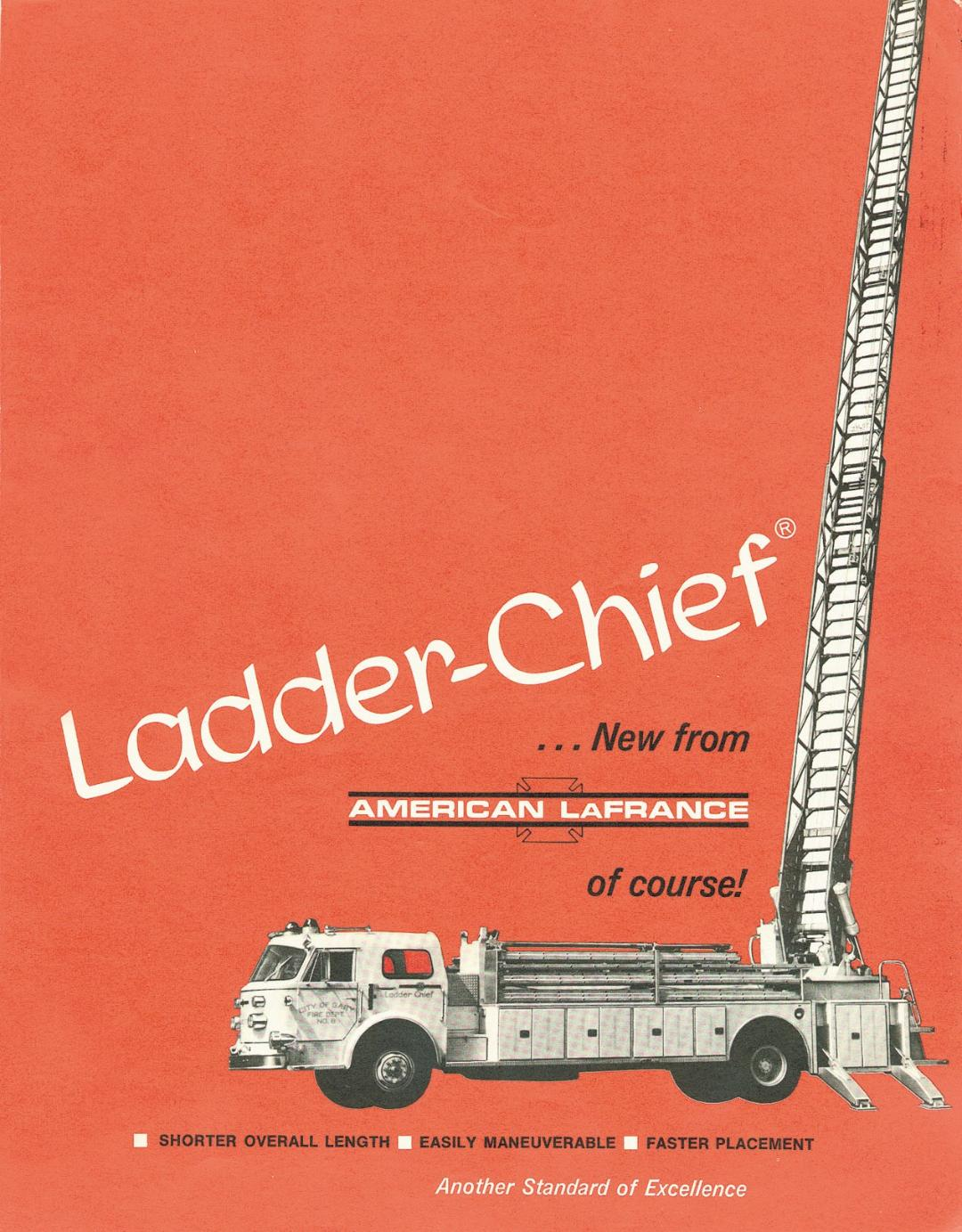 American LaFrance Ladder Chief brochure cover