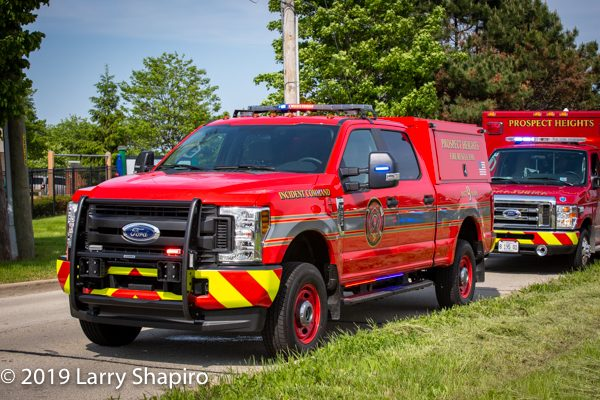 Prospect Heights FD Battalion 9 Ford F250