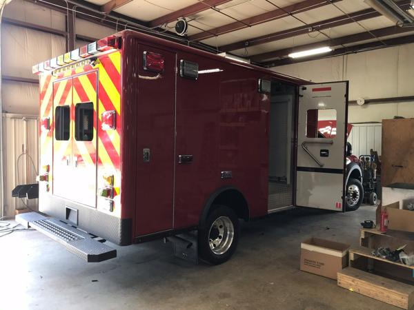 Peotone FPD ambulance remount