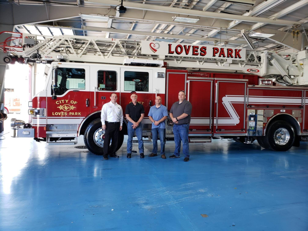 new fire truck for the Loves Park FD