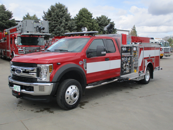 new mini pumper for the Bedford Park FD