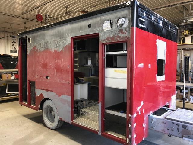 Huntley FPD ambulance remount and refurb