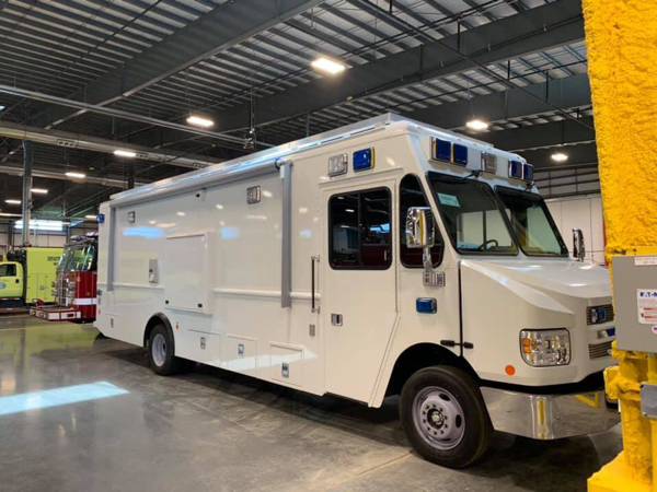 New mobile command post for the Chicago Police Department