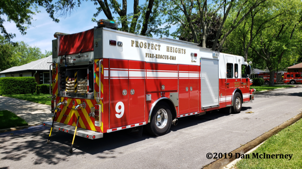 Prospect Heights FD Engine 9