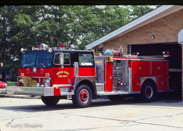 Hendrickson 1871S chassis fire engine from E-ONE