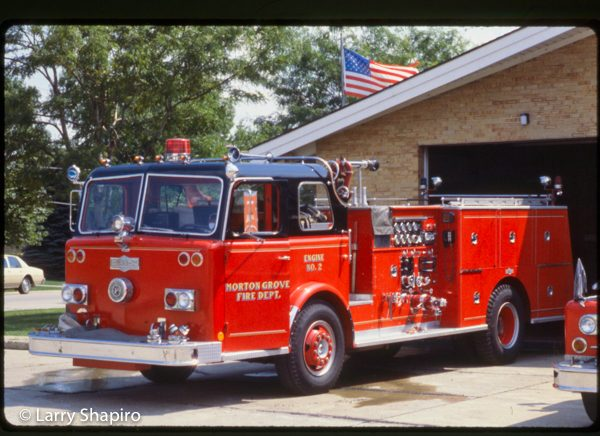 vintage custom Pirsch fire engine