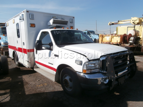 Chicago FD surplus ambulance for aale
