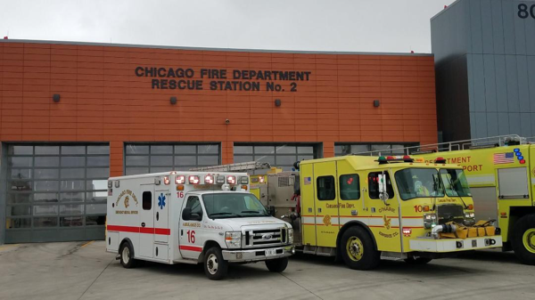 O'Hare Airport Fire Station Rescue 2