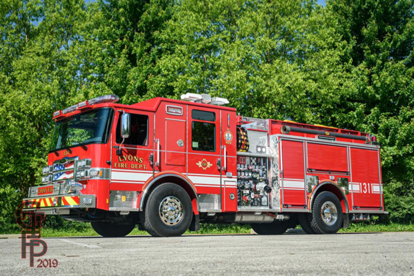 Lyons FD Engine 1311 - 2019 Pierce Enforcer pumper
