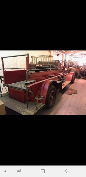 1918 Seagrave fire engine for sale