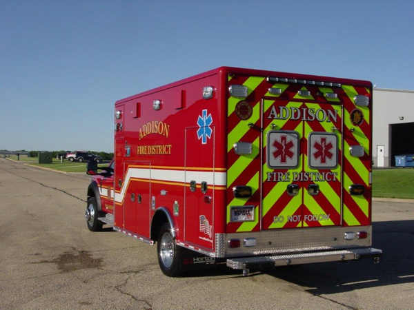 Addison Fire District ambulance