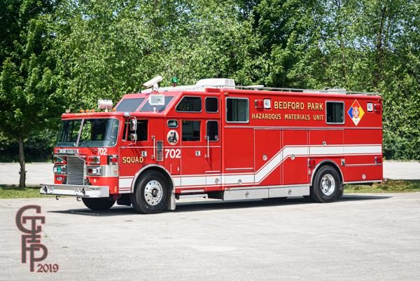Pierce Lance heavy rescue haz mat unit