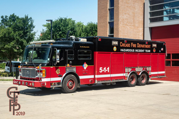 Chicago FD Haz Mat Unit 5-1-1