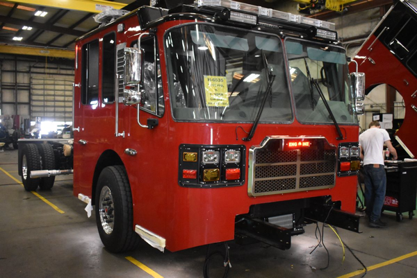 pumper being built by Ferrara for the Troy FPD so H-6535