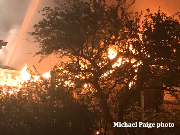 3-Alarm fire in Crystal Lake