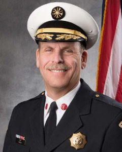 Des Plaines Fire Chief Alan Wax