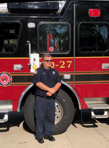 Firefighter/Paramedic Randy Buttliere