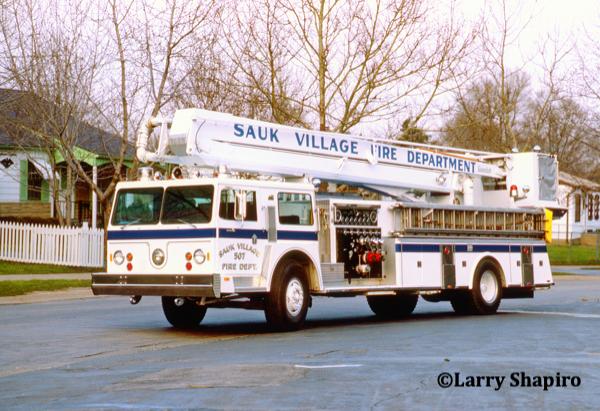 Sauk Village fire department history