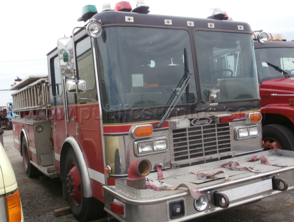 surplus Chicago fire engine - 1996 HME / Luverne for sale