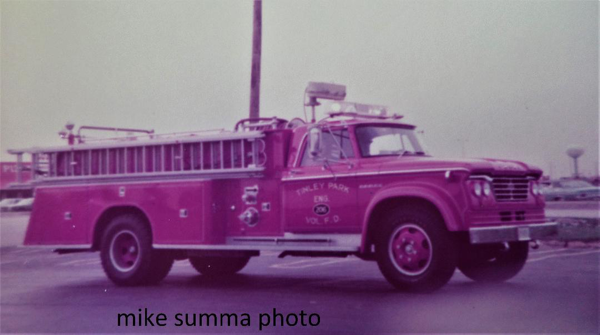 1962 Dodge fire engine