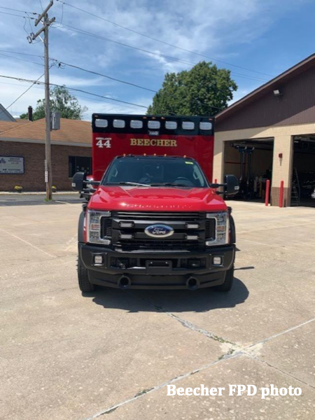 Type I Osage Super Warrior on a 2019 Ford 550 4x4 chassis