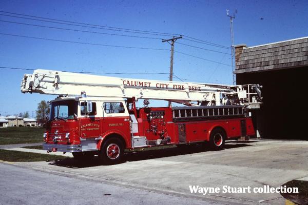 historic Snorkel fire truck