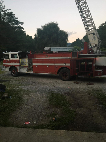 1973 Mack CF Pirsch ladder truck for sale
