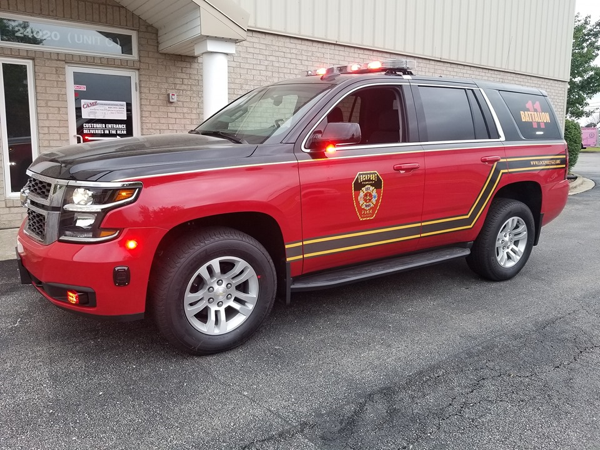 Chevy Tahoe FD battalion chief