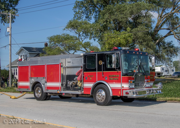HME Central States fire engine
