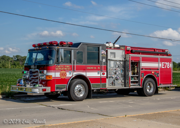Pierce Enforcer fire engine