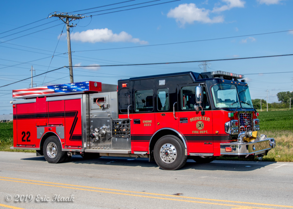 Spartan Metro Star fire engine