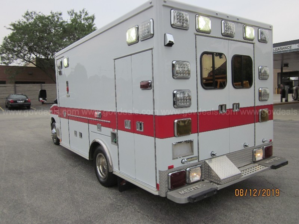 Mount Prospect FD ambulance for sale
