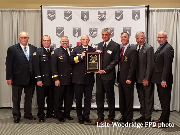 Lisle-Woodridge FPD receives agency accreditation status