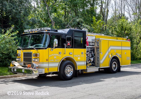 Hinsdale FD Engine 85