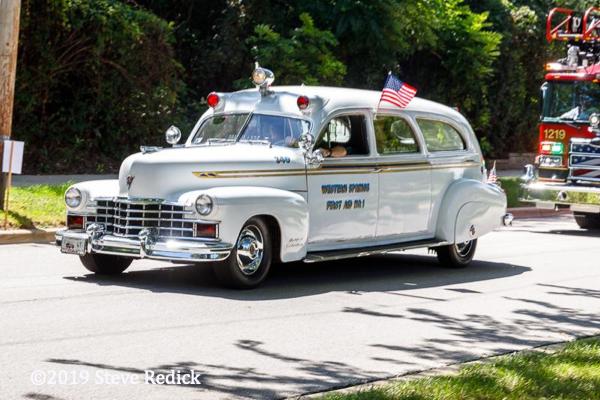 vintage Western Springs FD ambulance