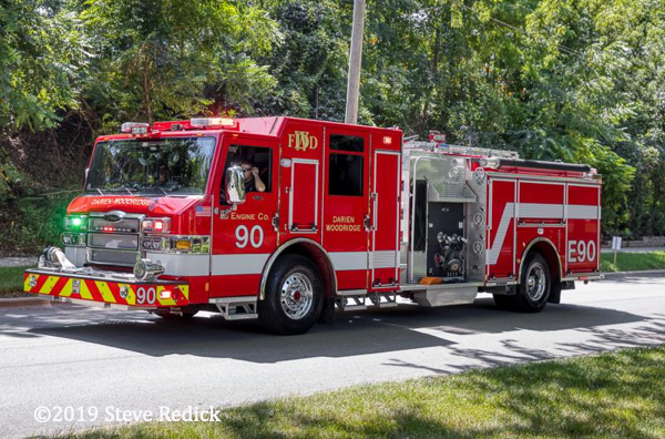 Darien Woodridge FPD Engine 90