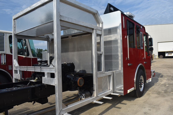 Troy FPD fire engine being built